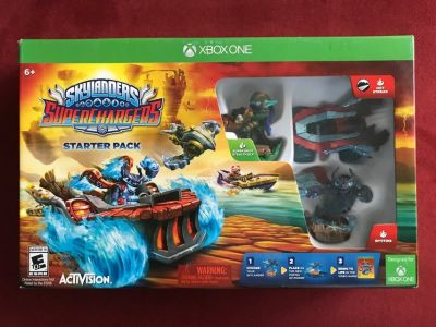XBOX ONE Skylanders Superchargers Starter Pack (Never Opened)