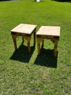 Solid wood western style and tables