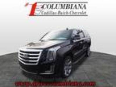 2017 Cadillac Escalade ESV Black