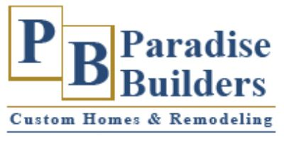 Paradise Builders- Custom Home Builders Serving Southeast Wiscosnsin