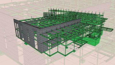 Building Information Modeling Services at Alabama - Point Cloud, BIM Clash Detection