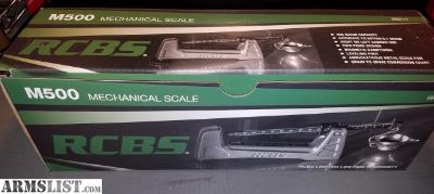 For Sale: RCBS M500 Mechanical Scale
