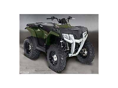 2008 Polaris Sportsman 400 H.O. Utility ATVs Lebanon, ME
