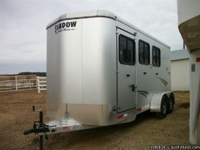 2014 Shadow 3 horse trailer bp