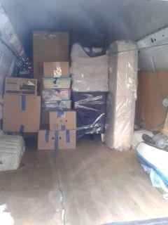 1-2 men & van -- MOVING --DELIVERING .347-424-7022