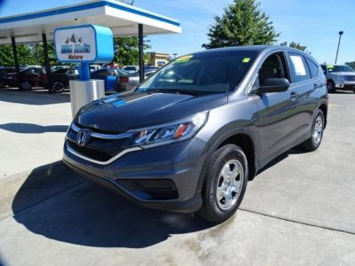 2016 Honda CR-V LX w/Leather (Modern Steel Metallic)