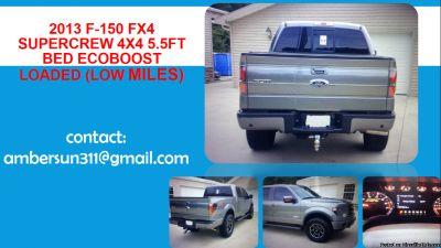 """ 4-Wheel Drive Ford F"