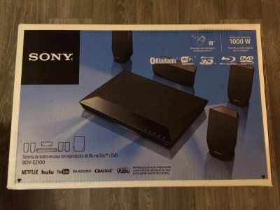 Sony home theatre 3D Blu-ray, surround sound system