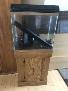 15 Gallon Fish Tank + Stand