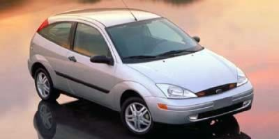 2000 Ford Focus ZX3 (Silver)