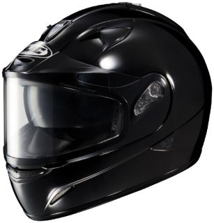 Sell HJC IS-16 Black Large Dual Lens Snowmobile Full Snow Sled Helmet Lrg Lg motorcycle in Ashton, Illinois, US, for US $143.24