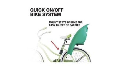Child Carrier Bicycle Baby Seat - Rear