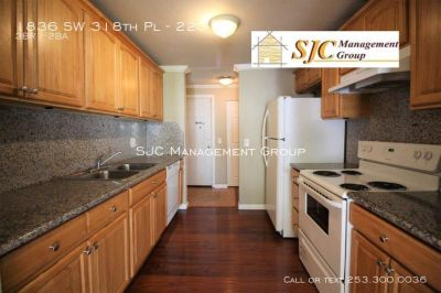 Three bed, two bath, condo for rent in Federal Way