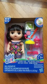 Baby alive sweet spoonfuls doll new