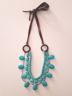 Stella & Dot Turquoise Necklace