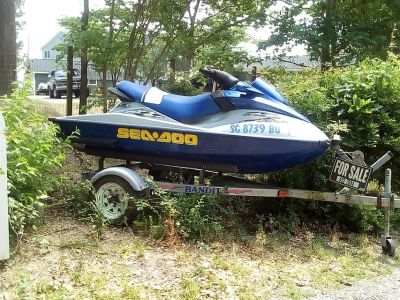 2002 seadoo rxdi with trailer