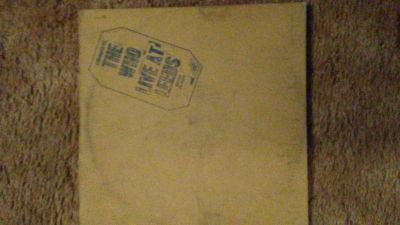 "The Who "" Live at the Leeds"" 33 LP"