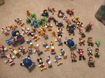 Gently used Disney Character Lot