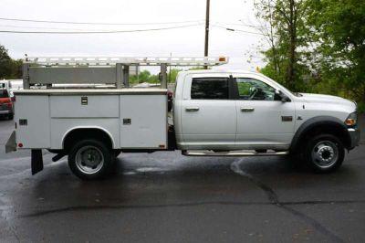 8987 - 2011 Dodge Ram 5500 4X4 Crew Cab; 9' Aluminum Utility Body