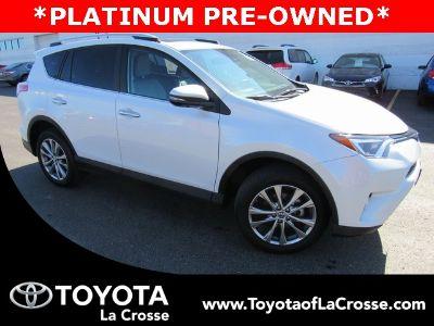 2016 Toyota RAV4 Limited (Blizzard Pearl)