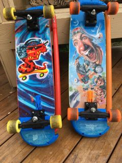 Convertible Skateboards/Scooters
