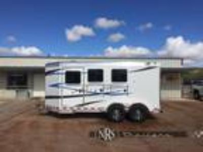 2019 4 Star 3 Horse Bumper Pull Trailer with Mangers 3 horses