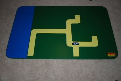 Brio train/ LEGO Play Board