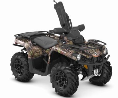 2019 Can-Am Outlander Mossy Oak Hunting Edition 570 Utility ATVs Bennington, VT