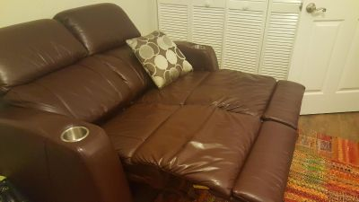 Electric Leather Recliner