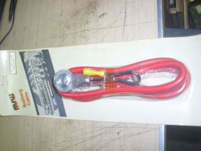 """Sell Battery Cable Positive 4-Gauge Red Side Post Ends 55"""" Length 64-72 CHEVELLE motorcycle in Chicago Heights, Illinois, United States, for US $29.99"""