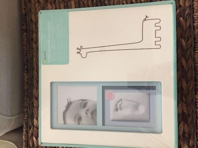 Baby prints wall frame
