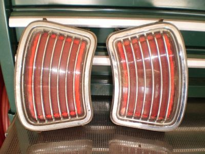 66 1966 Pontiac Tempest Lemans tail lights taillights LEMANS TEMPEST 455 428 389