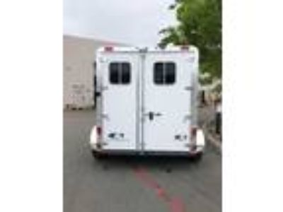 2019 4-Star Trailers 11' 2 Horse Bp Trailer