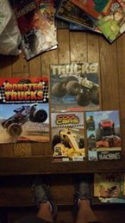 Trucks and car books