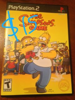 The Simpsons Game / PS 2