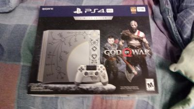 BRAND NEW IN BOX GOD OF WAR PS4 PRO LIMITED EDITION CONSOLE