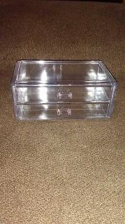 Heavy duty make up two drawer box $6