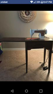 Working 70yr old sewing machine with table