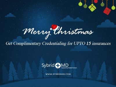 Get Complimentary Credentialing for UPTO 15 insurances