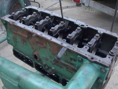 Sell VOLVO PENTA AQAD AD TAMD 41B KAD KAMD 42A 42B USED ENGINE BLOCK 860463 motorcycle in Costa Mesa, California, United States, for US $2,499.00