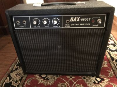 GAX 0602T Guitar Amplifier