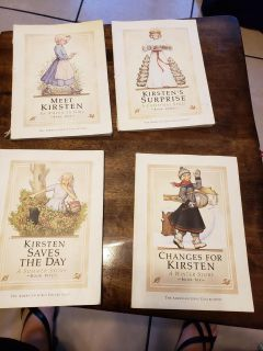 American girl books Kirsten collection