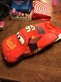 NWT Disney s Cars Lightning McQueen Plush. $7.00 #CrossPosted