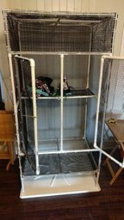 Large cage for sugar gliders or other animals