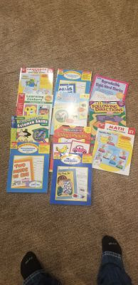 Centers and Stations workbooks prek to 1st grade