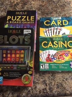 Lot of computer casino and card games