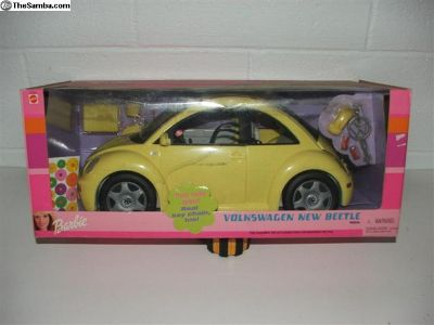 """Barbie """"new beetle"""" remote controled car"""