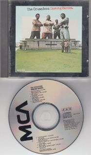 CRUSADERS ~ Unsung Heroes*RARE M-CD !