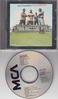 CRUSADERS ~ Unsung Heroes*RARE M-CD !