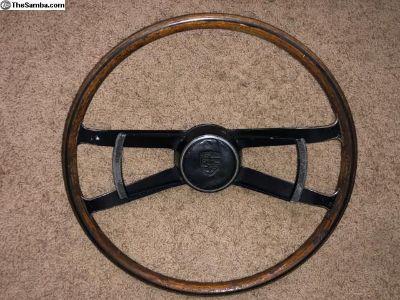 60's Porsche Wood Steering Wheel 911/912